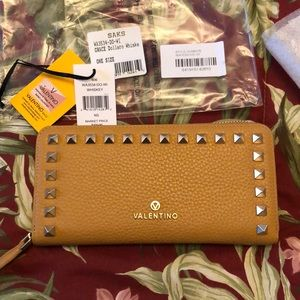 Valentino by Mario Valentino leather wallet